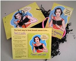 Breast Health Kit FREE Breast Health Kit: FREE Postcards, Magnet, and Bracelet