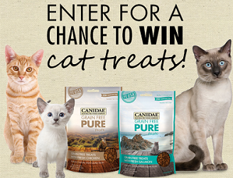 CANIDAE Cat Treats Instant Win Game CANIDAE Cat Treats Instant Win Game