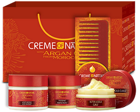 Creme of Nature Argan FREE NaturallyCurly Creme of Nature Daily Giveaway