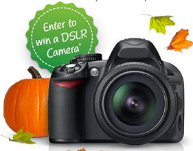 DSLR Camera DSLR Camera from International Delight Giveaway