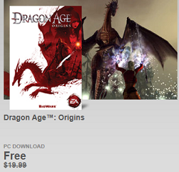 Dragon Age FREE Dragon Age: Origins PC Game Download ($19.99 Value)