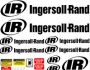 Ingersoll Rand Shop Decals