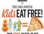 Kids Eat FREE on Halloween at Sbarro