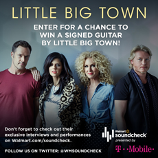 Little Big Town Signed Guitar Giveaway Little Big Town Signed Guitar Giveaway