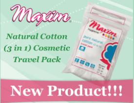 Maxim Organic Feminine Hygiene Product FREE Maxim Organic Feminine Hygiene Product Sample