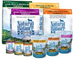 Natural Balance Pet Food FREE Natural Balance Pet Food Sample