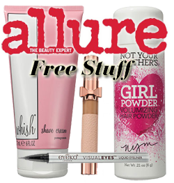 November Allure Freebies HOT FREE Full Sized Beauty Products From Allure on 11/3 11/6