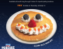 Scary Face Halloween Pancake