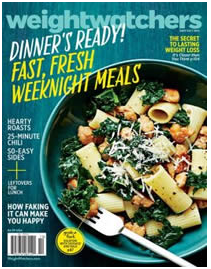 Weight Watchers Magazine FREE Subscription to Weight Watchers Magazine Giveaway