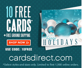 free cards 10 FREE Cards and FREE Shipping from CardsDirect