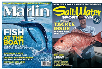 marlin mag and salt water FREE Subscriptions to Marlin & Saltwater Sportsman Magazines