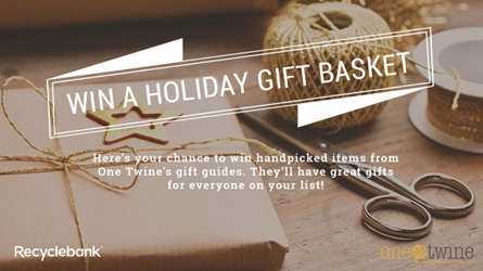 640x360 OT giveaway Recyclebank One Twine Holiday Gift Package Giveaway