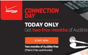 Audible8 300x186 2 FREE Months of Audible or a FREE $10 Credit