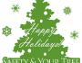 Christmas Tree Fire Safety Hang Tags