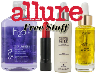 December Allure Freebies HOT FREE Full Sized Beauty Products From Allure on 12/1 12/4