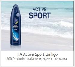 FA Active Sport Ginkgo Possible FREE FA Active Sport Ginkgo
