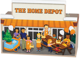 Give and Save Bank FREE Build a Give and Save Bank Workshop For Kids at Home Depot on 11/29