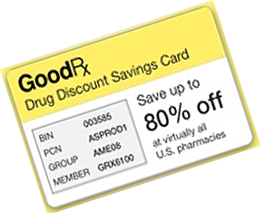 goodrx discount drug card