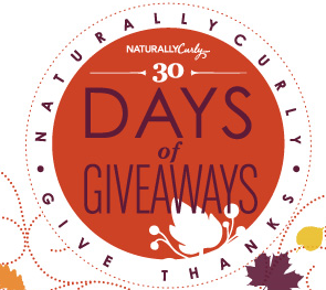 Naturally Curly November Naturally Curly November Daily Prizes Giveaway