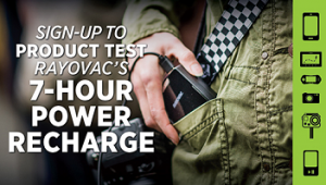 Rayovac 7 Hour Power Recharge 300x170 FREE Rayovac 7 Hour Power Recharge Sampling Giveaway