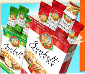Sunbelt Bakery Granola Sunbelt Bakery Granola Bars, fruit & Grain Bars or Cereal Giveaway