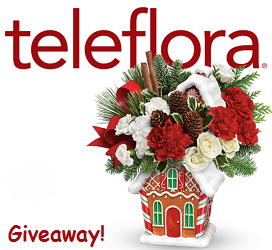 Teleflora Teleflora's Holiday Prizes and Gift Card Sweepstakes Giveaway