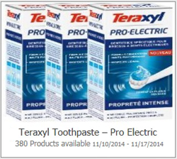 Teraxyl Toothpaste Pro Electric Possible FREE Teraxyl Toothpaste   Pro Electric