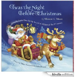 Twas The Night Before Christmas 62 FREE Kindle eBook Downloads