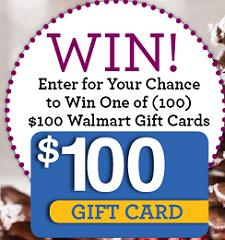 Wal Mart Gift Card Giveaway $100 Wal Mart Gift Card Giveaway Sweepstakes