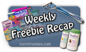 Weekly Freebie Recap 300x184 FREE Stuff Recap For This Week 11/8 11/14