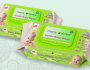 Green Hygienics Clearly Herbal Baby Wipes