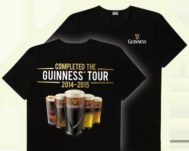 FREE Guinness Tour T-shirt...