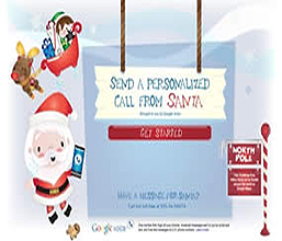 Santa Call FREE Personalized Call or Email From Santa