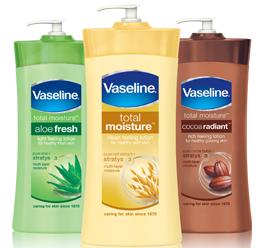 Vaseline1 FREE Full Size Vaseline Intensive Care Lotion Sample