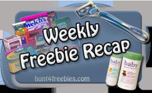 Weekly Freebie Recap 300x184 FREE Stuff Recap For the Last Couple Of Days 12/15 12/18