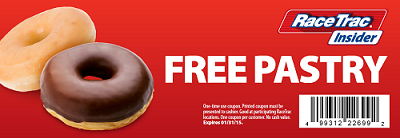 FREE Pastry at RaceTrac...