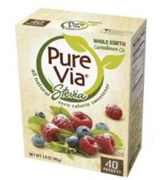 FREE Pure Via Sweetener 40-Cou...