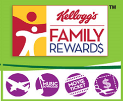 New free kelloggs family rewards points code update new points kelloggs family reward fandeluxe Gallery