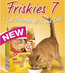 Purina Friskies 7 Cat Food