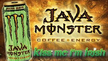 Java Monster Irish Blend Energy