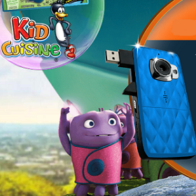 Kid Cuisine Vivatar DVR Camera Giveaway