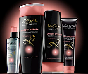 LOreal Ultimate Straight Hair Care