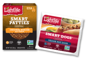 Lightlife Smart Patties and Smart Dogs
