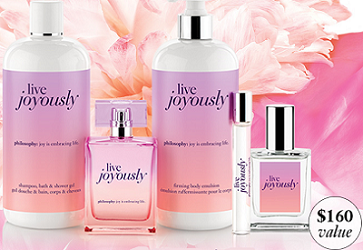 Philosophy Live Joyously Collection