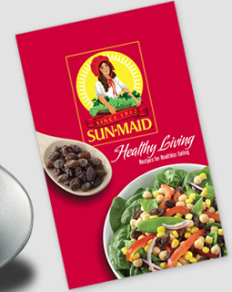 Sun-Maid Healthy Living Recipe Booklet