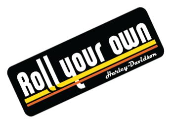 Harley-Davidson-Roll-Your-Own-sticker