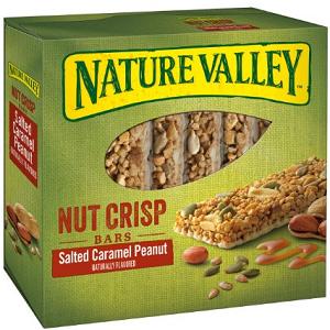 Nature Valley Nut Crisp Bars