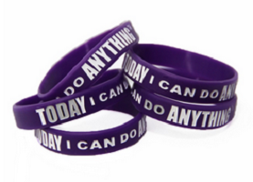 Today I Can Do Anything Wristband1