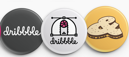 Dribbble Button Pack