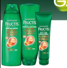 Garnier Fructis Brazilian Smooth Haircare
